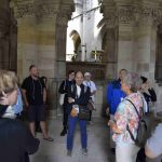 At the Cathedral of Magdeburg.